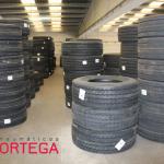 Stock neumáticos grandes
