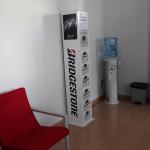 Sala de espera del segundo taller en Ribarroja, Valencia.
